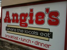 Angie's in Logan, Utah--one of our favorites whenever we are passing through.  :)