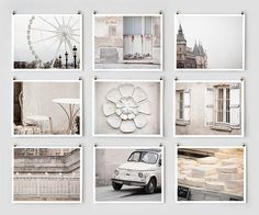 Paris in white...