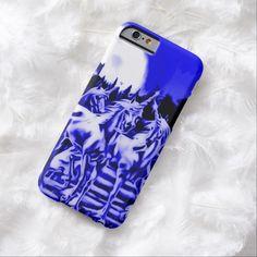 Midnight Unicorn Airbrush Art iPhone 6 Case by BOLO Designs.