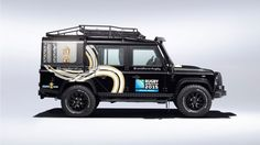 Land Rover builds unique Defender for 2015 Rugby World Cup