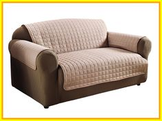 Legacy Decor Beige Soft Micro Suede Couch Sofa and Loveseat Pet Furniture Slip Covers