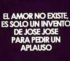 El amor no existe..