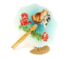 There are very few themes for decorating a home that capture the imagination quite like an Asian inspired theme. There are many reasons for this one of which is the rich colors, fabrics, and textur… Hand Held Fan, Hand Fan, Cat Flowers, Paper Fans, Mid Century Decor, Green Backgrounds, Wooden Handles, Paper Design, Vintage Accessories