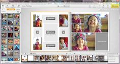 Family Yearbooks with Mixbook (they have great layouts that are easy enough to duplicate in Blurb)
