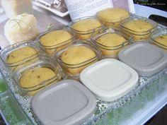 Petits gâteaux au yaourt et pépites de chocolat dans ma yaourtière multidélice