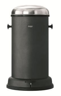 Vipp 16 tunna - svart - Vipp. 60 cm, 18 liter Trash Bins, Compost, Home Accessories, Composters