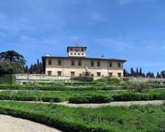 """The Villa La Petraia is one of the Medici villas in Castello, near Florence, Tuscany, central Italy. It has a distinctive 19th century Belvedere on the upper east terrace on axis with the view of Florence. In 1364, the """"palace"""" of Petraia belonged to the family Brunelleschi until in 1422 Palla Strozzi bought it and expanded it by buying the surrounding land. In the first half of the sixteenth century, the villa became the property of the Salutati, who then sold the villa to Cosimo I de'…"""