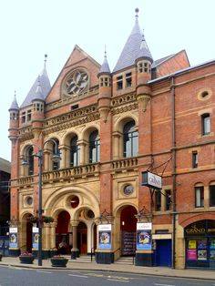 Grand Theatre, Leeds, by George Corson, assisted by J. Watson, built in Leeds England, Leeds City, Her World, West Yorkshire, Grand Tour, Places To Visit, Tours, Mansions, Architecture