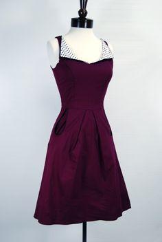 vino retro dress