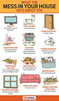 What the Mess in Your House Says About You