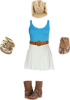 My Cow girl look(:, created by katie-diane on Polyvore