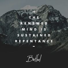 the renewed mind Amazing Quotes, Great Quotes, Inspirational Quotes, Bill Johnson Quote, I Have This Hope, Bethel Redding, Bethel Worship, Cool Words, Wise Words