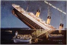 Síndrome do mundo moderno : Todo mundo tem seu Titanic