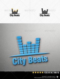 City Beats Logo Template #GraphicRiver City Beats Logo Template is a great logo design best for city music,sound recording, and many more.it is a fully editable logo in .PSD layers. Whats in the file? .PSD Document (Layered) 100% editable CMYK (Fully adjustable) Free fonts Font(s) used Swis721 BlkCn BT :fontpark /en/font/swis721-blkcn-bt-black/ ...