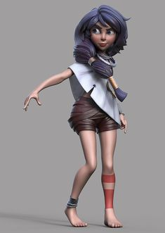 Raki Sculpt by Jacob Ovrick | Cartoon | 3D | CGSociety
