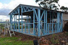 #prefab #fabrication #fabrications #prefabrication #prefabrications #dynamicsteelframe #lightsteelframe #truecore #steelframe #steel #lighterstraighterbetter #architecture #melbourne #australia #harkaway