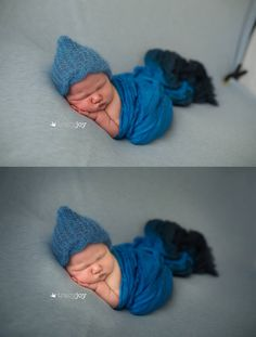 Knitting PATTERN Newborn Pixie Cable Knitted by softnesslove