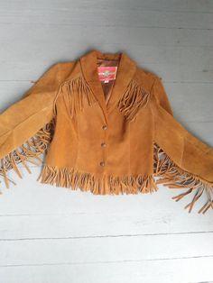Vintage 70's Fringe Ms. Pioneer Jacket / by JulesCristenVintage