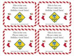 Do a holiday good turn with your Cub Scouts this year!
