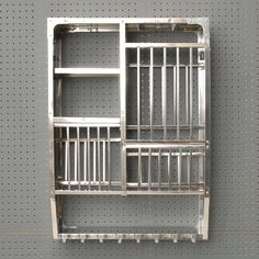 our simple utility stainless steel plate racks are all hand made in india