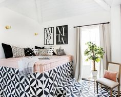 20 Rooms That Prove You Need a Daybed in Your Life via Brit + Co