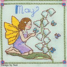 Lesley Teare - Birthday Fairies (Calendar 2015) - May