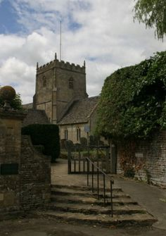 St.John The Baptist Church, Great Rissington, Cotswolds, UK. This tiny village lost 5 brothers to the Great War.