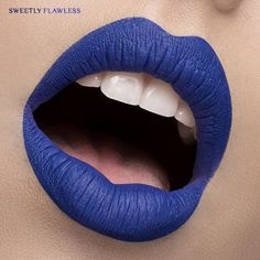 Blue Velvet by Jeffree Star Cosmetics Swatched by SweetlyFlawless