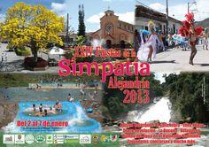 Fiestas de la Simpatía, Alejandría, Antioquia, Colombia, 2013