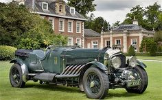 Unique, bespoke Bentley with a 27-ltre Rolls-Royce Meteor aero engine from Spitfire airplane. Not a huge fan of non-original cars but this is seriously cool.