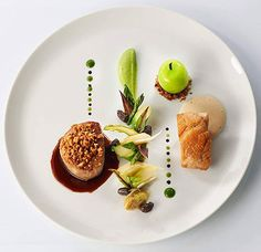 Signature Dish by Stephane Buron -France-