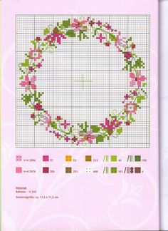 This Pin was discovered by Büş Just Cross Stitch, Cross Stitch Cards, Simple Cross Stitch, Cross Stitch Borders, Modern Cross Stitch Patterns, Cross Stitch Flowers, Counted Cross Stitch Patterns, Cross Stitch Designs, Cross Stitching
