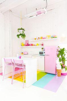 Aww Sam Studio: Rainbow Kitchen Reveal!