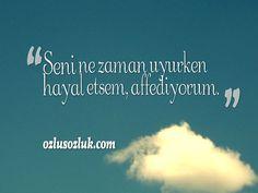 Seni ne zaman uyurken hayal etsem, affediyorum. - Cemal Süreya  #zaamn #hayal #uyku