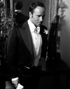 TOM FORD  The designer in 2007, the year he launched his own line, Tom Ford Menswear.