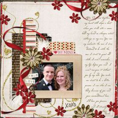 scrapbook - organizing memories #LeaFrancePhotoCollage #Scrapbooking