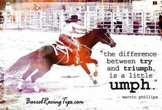 barrel racing quotes - Bing Images on We Heart It Rodeo Quotes, Equine Quotes, Horse Quotes, Horse Sayings, Cowboy Sayings, Western Quotes, Country Quotes, Barrel Racing Quotes, Barrel Racing Tips