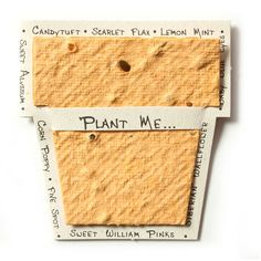 Don't just give a card, give a mini-garden! An adorable addition to any gift, these seed-paper mini-gift cards are plantable and made from 100% recycled paper. The card itself is a second gift! Envelo