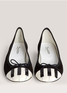 Piano Key Shoes
