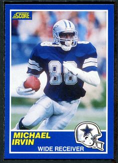 1989 score  Football  18 michael irvin nm-mt 83646 from  10.0 bf4c689e2
