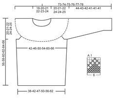 Strikket DROPS bluse i Karisma med nordisk mønster og rundt bærestykke. Str S - XXXL Gratis opskrifter fra DROPS Design.