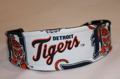 Detroit Tigers MLB  reversible fabric headband by OhSewFine, $9.50
