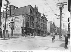 St. Lawrence looking North from Vitre . - 26 mai 1921 - Archives de Montréal