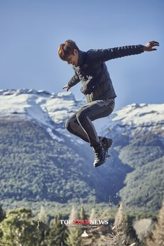 cool Lee min ho for EIDER FW 2015…!!!