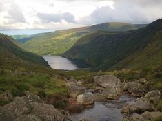 The Wicklow Mountains are just outside Dublin- great for a day trip.  Hiking in the Wicklow Mountains is absolutely breathtaking.