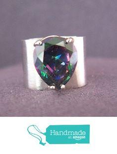 Alexandrite Gemstone Sterling Silver Ring from FirednWiredJewelry https://www.amazon.com/dp/B01EGUQXXW/ref=hnd_sw_r_pi_dp_exaIxb31D0052 #handmadeatamazon