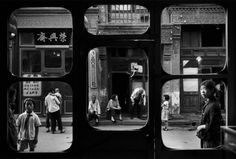 Storefront, Beijing, China, 1965, photograph by Marc Riboud. Chinese history and vintage photos