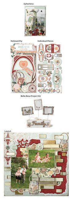 BoBunny Bella Rosa Collection!
