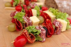 špíz Party Buffet, Canapes, Appetizers For Party, Quick Meals, Queso, Soul Food, Afternoon Tea, Finger Foods, Side Dishes