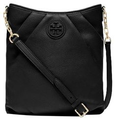 The Tory Burch New Kolbe Swingpack Sold-out Black Leather Cross Body Bag is  a top 10 member favorite on Tradesy. 81a39264bd
